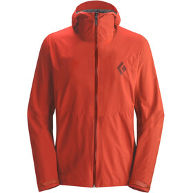Black Diamond M's Liquid Point Shell Jacket Rust